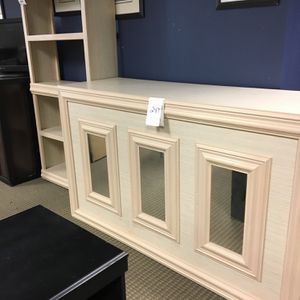 MIRRORED BAR AND MATCHING BAR BACK for Sale in Durham, NC