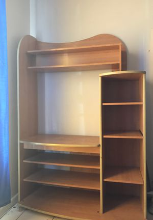 Wood desk / Tv or Movie stand for Sale in Miami, FL