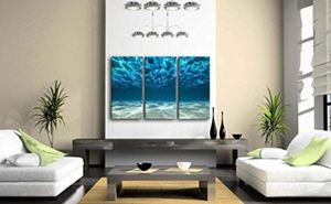 Print Artwork Sea Wall Art Blue Ocean Poster Home Decor Furniture Living Room Wall Ocean Picture for Sale in Temecula, CA