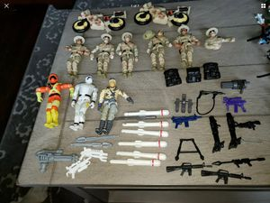 GI joe g.i. Arah vintage action figures soldiers old toys for Sale in Stoughton, MA