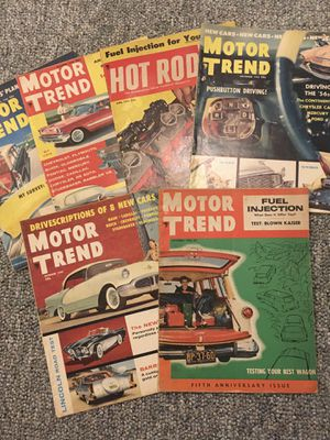 Motor Trend and Hot Rod Magazines for Sale in Framingham, MA