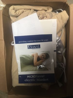 Electric blanket for Sale in Los Angeles, CA