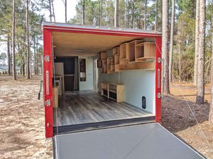 **Creative 2018 Converted Enclosed Cargo Trailer Tiny House Camper** for Sale in Ridgeland, SC