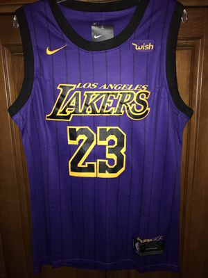 Lebron James Lakers purple jersey for Sale in Miami, FL