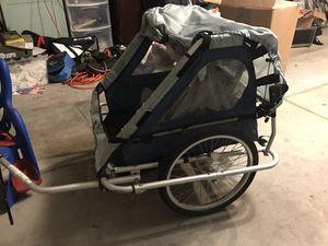 Nordic trac burley bike trailer for Sale in San Francisco, CA