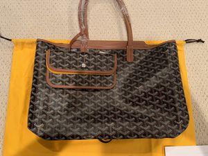 Goyard Isabelle Tote Bag PM Black/Tan for Sale in Berkeley, CA