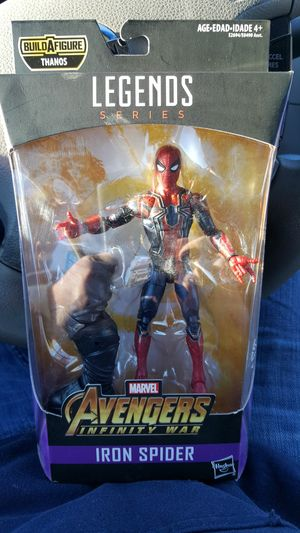 Marvel spider man action figure for Sale in Charlotte, NC