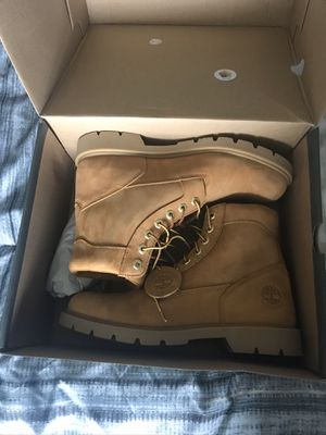 Mens Timberlands boots size 9.5 for Sale in Cross Roads, TX