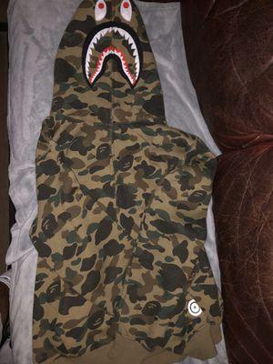 BAPE 1st camo shark hoodie for Sale in Redondo Beach, CA