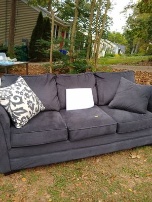 Couch. Sink in slightly for Sale in Smyrna, GA