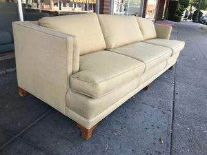 """#30341 Modern Asian Style 34"""" Deep x 92"""" Wide Designer Sofa for Sale in Oakland, CA"""