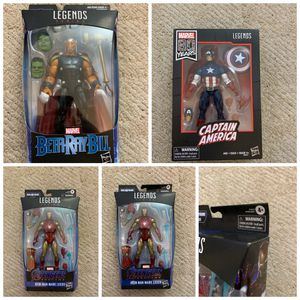 Marvel legends Iron Man, Captain America, Beta Ray Bill for Sale in Diamond Bar, CA