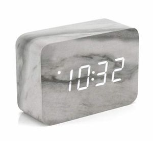 New Marble Pattern Alarm Clock Multi Function LED with USB Power Supply (Tarpon Springs) for Sale in Tarpon Springs, FL