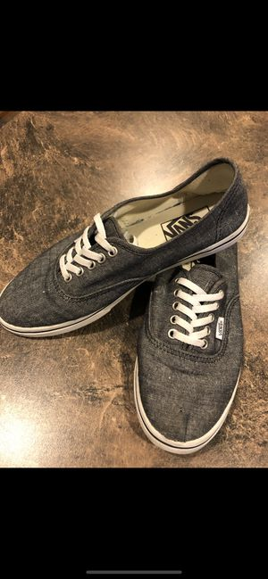 Vans Unisex Men's 5.5/Woman's 7 Blue Jean Print for Sale in Martinsburg, WV