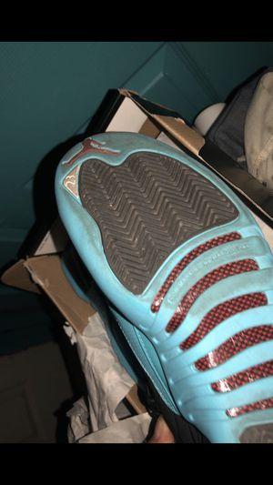 Jordan gamma 12 blue/black size 51/2 for Sale in Parlier, CA