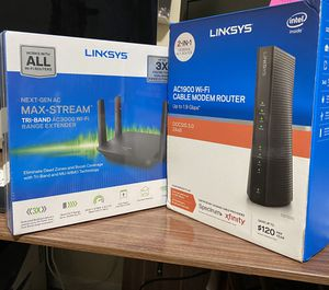 Linksys AC 1900 Wi-Fi 2-in-1 & linksys Extender for Sale in Portland, OR