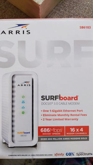 Arris Cable Modem for Sale in Fort Worth, TX