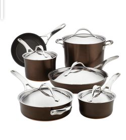 Abolish nouvelle hard anodized cookware set for Sale in Vienna,  VA