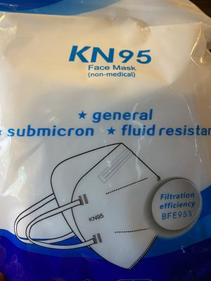 Kn95 five layer mask. Pack of 10 sold as patch of 100 for Sale in Bloomfield Hills, MI