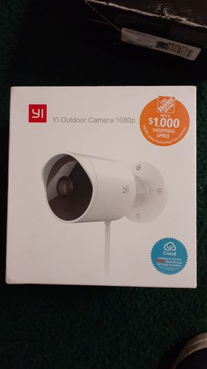 YI outdoor Camera 1080 for Sale in Salt Lake City, UT