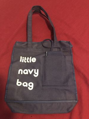 Vintage child's little blue bag purse/tote with attached wallet for Sale in Mechanicsburg, PA
