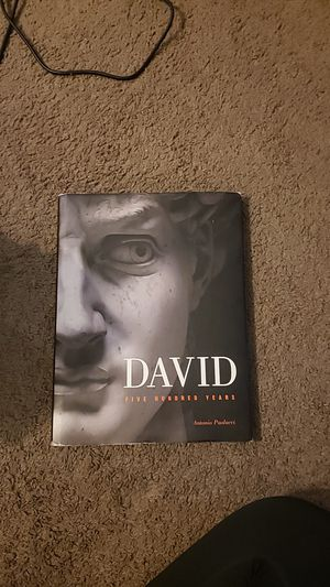 David : Five Hundred Years (2005, Hardcover for Sale in Temple Terrace, FL