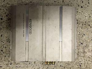 Kenwood 500 watt 4/3/2 channel amp for Sale in Pittsburgh, PA