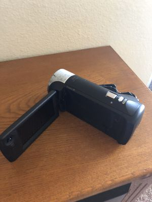 Sony video camera no charger for Sale in Champlin, MN
