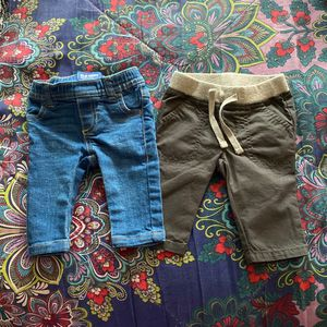 OLD NAVY 0-3 Month Baby Boy Skinny Jeans And Cargo Pants for Sale in Gaithersburg, MD