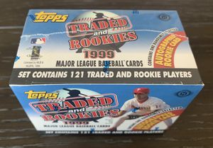 1999 Topps Traded and Rookies Factory Sealed Set for Sale in Fullerton, CA