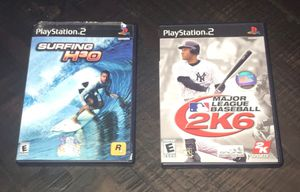 PS2 PlayStation Games $3 each or $5 for both for Sale in Port St. Lucie, FL