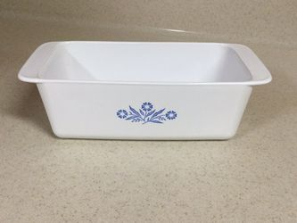Corning Ware Blue Cornflower 2 qt Baking Dish/Loaf Pan P-315-B for Sale in Seneca,  SC