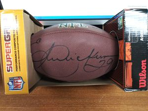 Eric Dickerson signed footbal $124.99 for Sale in Upland, CA