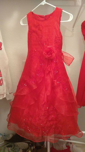 Flower Girl Dress (Red) for Sale in Lehigh Acres, FL