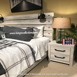 NEW IN THE BOX.BEDROOM SET: QUEEN BED +DRESSER+NIGHTSTAND SKU#TCB192-SET for Sale in Westminster,  CA