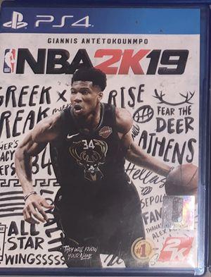 2k19 PS4 for Sale in Redlands, CA