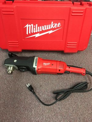 """New Milwaukee Super Hawg 1/2"""" High Power Right Angle Drill. 1680-21 for Sale in Waltham, MA"""