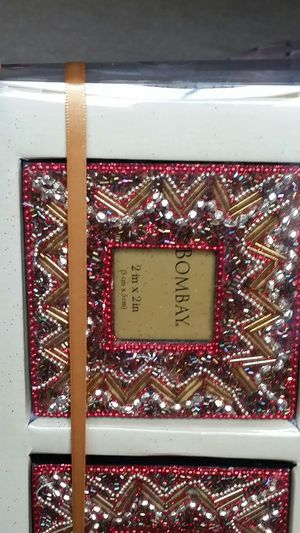 Set of 3 beaded mini photo frames ..New!! for Sale in Bloomington, IL