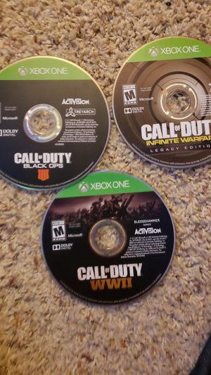 Call of Duty (Black ops 4- Infinite Warfare- WW2) GTA IV for Sale in Denver, CO