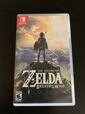The Legend of Zelda: Breath of the Wild for the Nintendo Switch for Sale in Stockton, CA