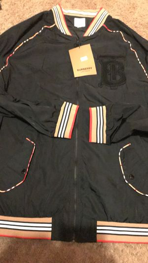 BURBERY JACKETS LARGE NEW for Sale in Landover, MD