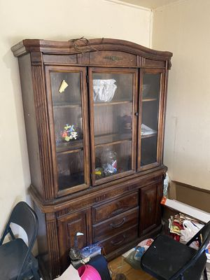 Vintage china cabinet for Sale in San Diego, CA