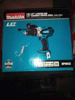 Makita 18 volt hammer drill brand new for Sale in Federal Way, WA