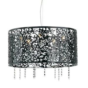 Crystal and Black Riel Pendant Chandelier for Sale in Seattle, WA