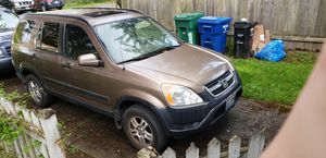 2002 Honda CRV for Sale in Seattle, WA