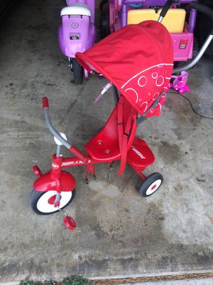 Radio Flyer tricycle 4-in-1 Stroller Trike for Sale in Riverside, CA