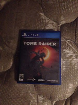 Tomb raider game for PS4 like new no scratches 5$ for Sale in Nederland, TX