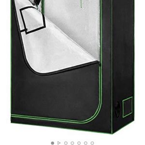 """VIVOSUN 48""""x24""""x60"""" Mylar Hydroponic Grow Tent with Observation Window and Floor Tray for Indoor Plant Growing 2'x4' for Sale in Antioch, CA"""