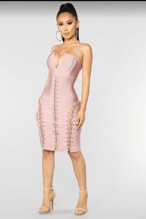 Fashion Nova Bandage Dress / Blush Dress / Vestido for Sale in Los Angeles, CA