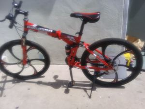 """26""""FOLDING MT.RACE BIKE for Sale in Lincoln Acres, CA"""